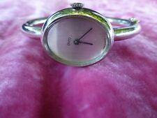 FRENCH STERLING SILVER MANUAL WIND OBREY WOMEN'S WATCH RECENTLY OVERHAULED