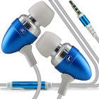 Paquete Doble Azul Bebé Manos Libres Auriculares Con Micrófono Para Huawei Honor