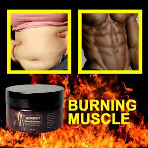 Slimming Cream Fat Burning Muscle Weight Loss Body Sweat Enhancer Abs Gel UK