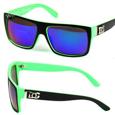 New DG Eyewear Mens Green Mirrored Lens Sunglasses Shades Fashion Designer 352