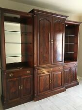 Entertainment Center American of Martinsville Va. 1984 Good condition