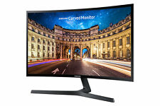"Samsung Curved Monitor C24F396FH LED-Display 59,94 cm (24"") schwarz-glänzend"