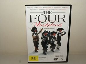 The Four Musketeers (DVD) REGION 4 - VGC