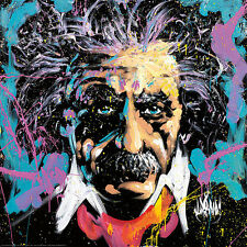 David Garibaldi Einstein E=MC2 Novelty Print Poster 24x24