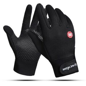 Cycling gloves with wrist support touch screen bicycle outdoor sports anti-slip