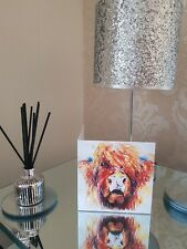 Fun quirky limited edition greeting birthday card of my original HIGHLAND cow