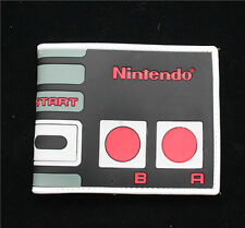 Nintendo wallet leather pu Bifold wallet men student cosplay Purses