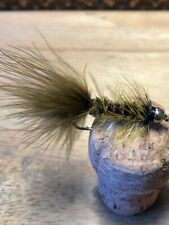 Olive  Wooly Buggers Fly Fishing Flies Size 6, Set Of 3 Trout /Salmon