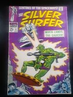 SILVER SURFER #2 FIRST APPEARANCE OF BADOON STAN LEE JOHN BUSCEMA 1968 A3