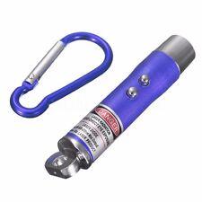 🔥 3 in 1 LASER LED KEYRING Lazer Pen Torch UV Light 3in1 Key Chain Ring Pointer