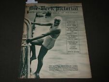 1933 AUGUST 5 MID-WEEK PICTORIAL MAGAZINE SECTION - ELEANOR HOLM COVER - J 3218