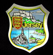 AUTOCOLLANT STICKER TOURISTIQUE JERSEY