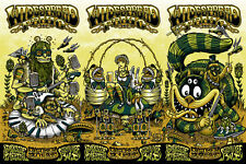 OFFICIAL WIDESPREAD PANIC CONCERT POSTER 2017 MILWAUKEE RIVERSIDE THEATER 2017