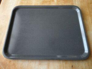 """6 x Cambro Capri Laminate Serving Trays Granite 48 x 37cm/ 19"""" x 14.5"""" **NEW**"""