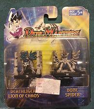 Duel Master Deathliger Lion of Chaos  & Bone Spider Hasbro 56 44