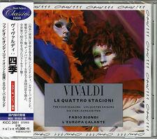 FABIO BIONDI / EUROPA GALANTE-VIVALDI: THE FOUR SEASONS-JAPAN CD B63