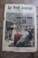 Petit journal illustré N°245 1895 Examens jeunes filles - Au Tonkin Examen