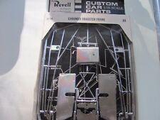 Revell Custom Car Parts Pack C1130 Chrome Dragster Frame NOS