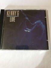 Kenny G Live by Kenny G (CD, Nov-1989, Arista)