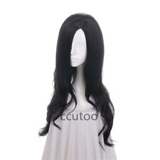 70cm The witcher Yennefer of Vengerberg Female's Black Curly Cosplay Full Wigs