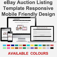 Black eBay Auction Listing Template Responsive Image Photo Gallery 2018 ZEFIR
