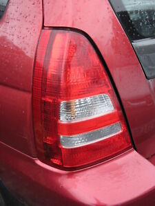 2004 SUBARU FORESTER PASSENGER SIDE REAR LIGHT NEAR SIDE REAR LAMP