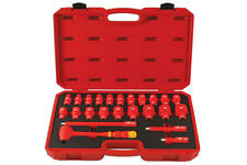 "INSULATED HYBRID VDE CERTIFICATED 1/2"" SOCKET SET EXTENSION RATCHET TOOL KIT"