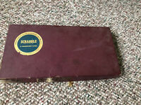 Vintage 1948 Scrabble Board Game Selchow Righter