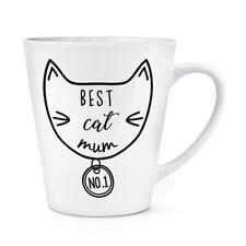 meilleur chat maman 341ml Latte Tasse - CHAT DRÔLE Crazy Cat Lady Chaton