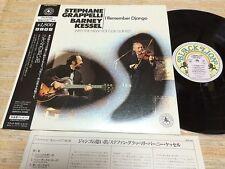 STEPHANE SRAPPELLI / BARNEL KESSEL-I Remember Django  Rare Japan  LP w/OBI
