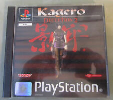 Kagero Deception 2 - Sony Playstation PS1 PSX PAL RARO