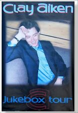 Clay Aiken! Jukebox Tour Picture Wall Poster New Sealed