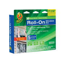 Duck Roll-On  Clear  Window Film Insulator Kit  62 in. W x 200 in. L .7 mil