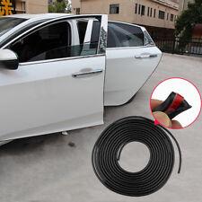 1* 5M Black Car Door Moulding Rubber Scratch Protector Strip Edge Guard Trim DIY