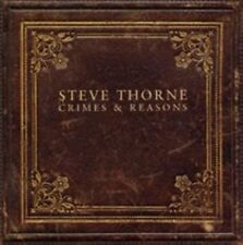 STEVE THORNE - CRIMES AND REASONS USED - VERY GOOD CD
