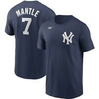 Nike New York Yankees Mickey Mantle Cooperstown Collection Name & Number T-Shirt