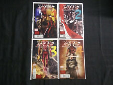 DEADPOOL KILLS 2012 LOT OF 4 COMICS...RUN #1-4 COMPLETE  VF - NM