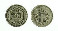 pcc1564_13) Vittorio Emanuele III  (1901-1943) 20 Cent Esagono 1920