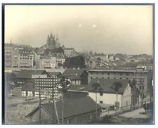 """Suisse, """"Brasserie Lion de Bâle""""  Vintage silver print.  Tirage argentique"""