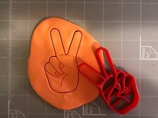 Victory/Peace Symbol Cookie Cutter