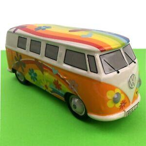 Volkswagen Campervan Moneybox VW Hippy Bulli Bus T1 Piggy Bank Split Screen Love