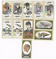 2009-10 Upper Deck Champ's Mini 11 card lot GRETZKY, MESSIER, LUNDQVIST, HISTORY