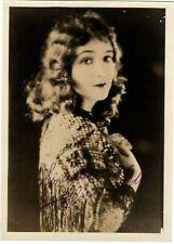 ~Florence Vidor~ Antique 5x7 Fan Photo Silent Film Actress