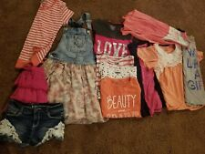 Huge Lot Of Girls Mixed 10/12 & 14/16 Spring And Summer Cloths! 13 Items!