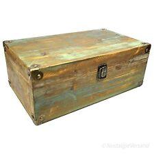 Aufbewahrungskiste Schatulle Kasten Box Aufbewahrung Holz Braun Vintage Shabby