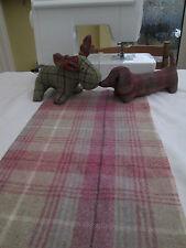 BN Very High Quality 100% Abraham Moon Wool In Fab Pink Tartan