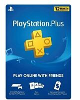 Sony PlayStation Plus 1 Year Membership Subscription Card (USA/Canada) - Instant