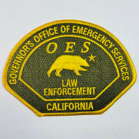 Governor's Office Of Emergency Services Law Enforcement California Patch (A4-B)