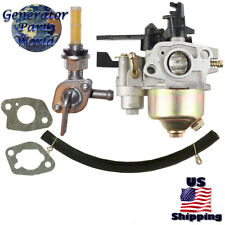 Kipor Carburetor w/ Shutoff Right Petcock for Gk205 Kgp20 Kgp30 Gas Water Pump