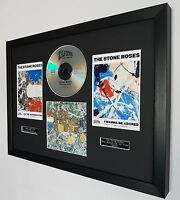 The Stone Roses Framed Original CD-Limited Edition-Certificate-Adored-Ian Brown